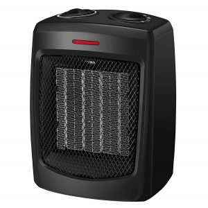 andily Space Heater Electric Heater for Home and Office Ceramic Small Heater with Thermostat